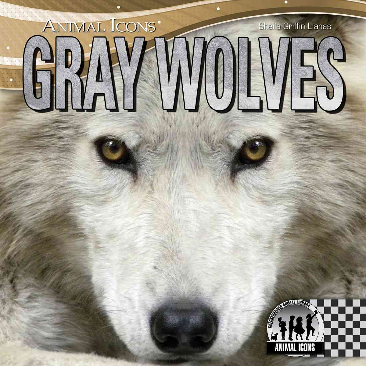 Gray Wolves By Llanas, Sheila Griffin